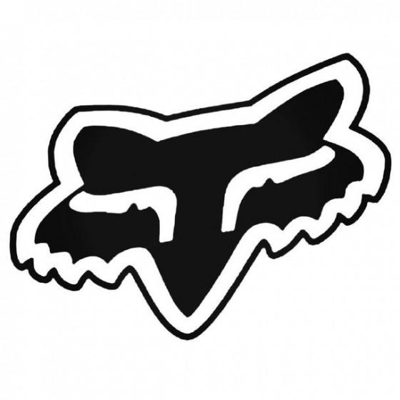 Fox 3 Decal Sticker