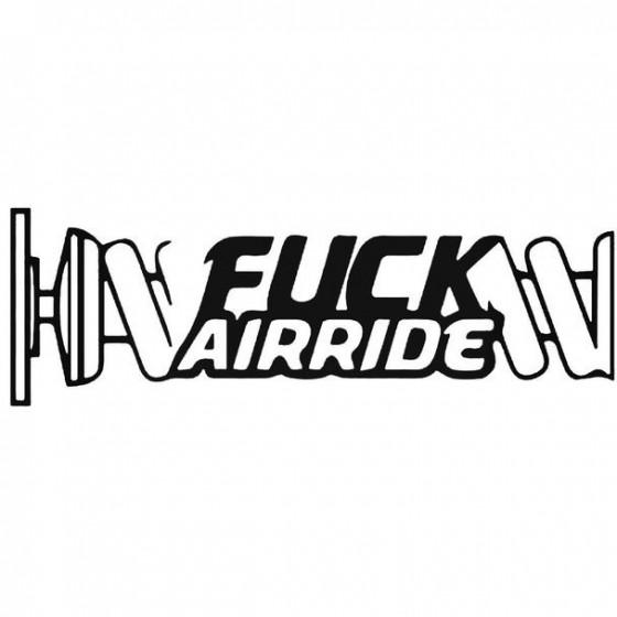 Fuck Airride Decal Sticker