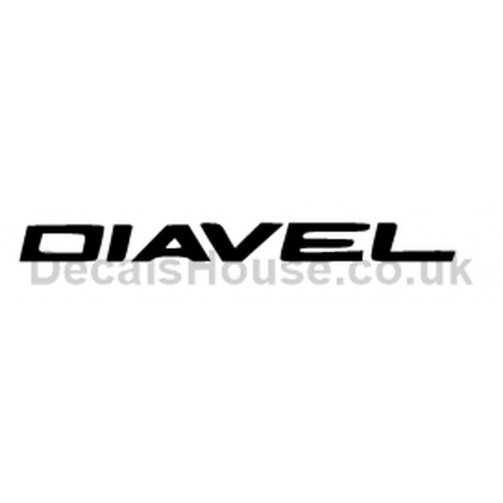 Ducati Diavel Vinyl Decal...
