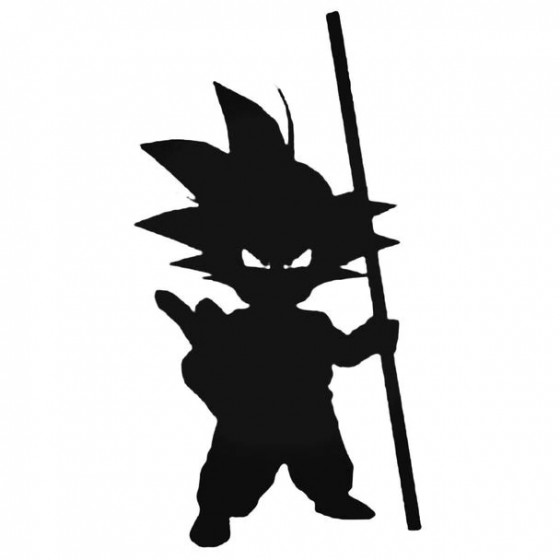 Dragon Ball Z 1 Decal Sticker