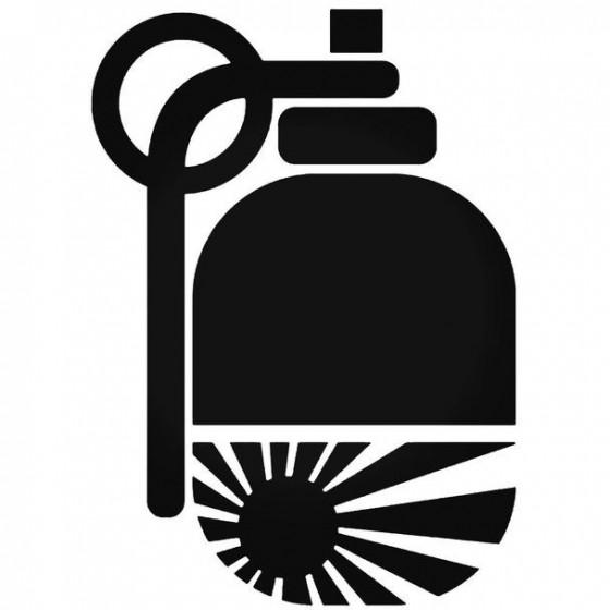 Granaat Sticker