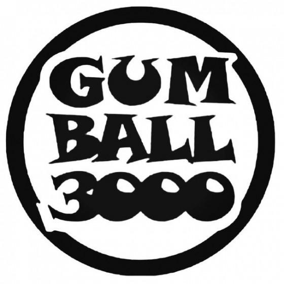 Gumball 1 Decal Sticker
