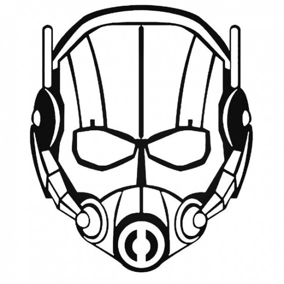 Avengers Ant Man Decal Sticker
