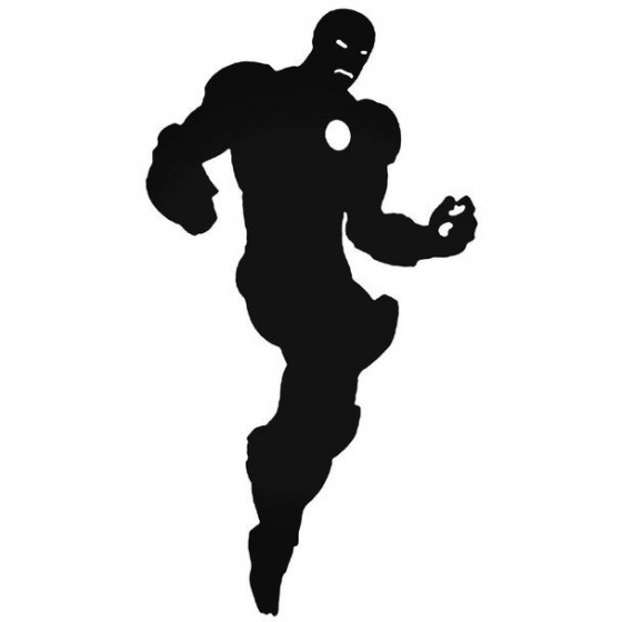 Avengers Iron Man Decal...