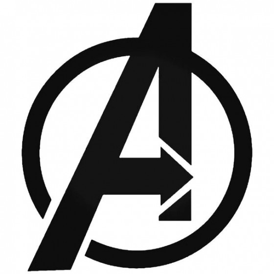 Avengers Symbol Decal Sticker