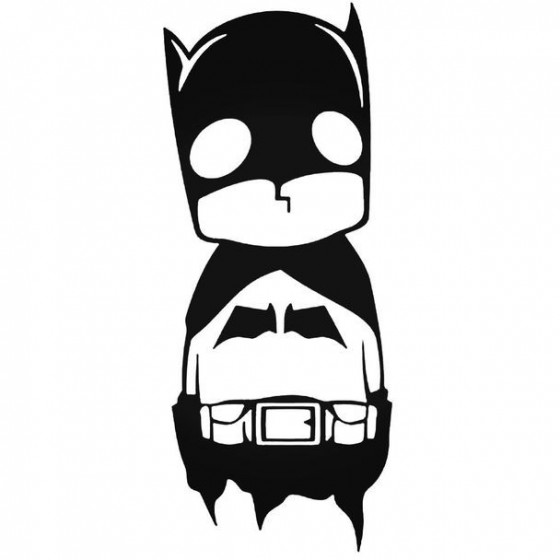 Baby Batman Decal Sticker