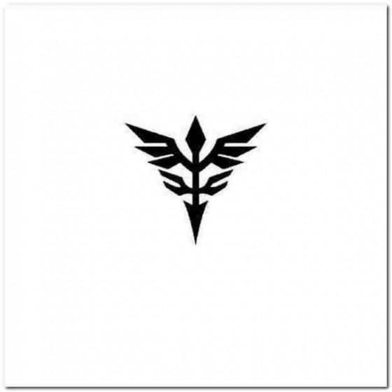 Gundam Neo Zeon Logo Vinyl...