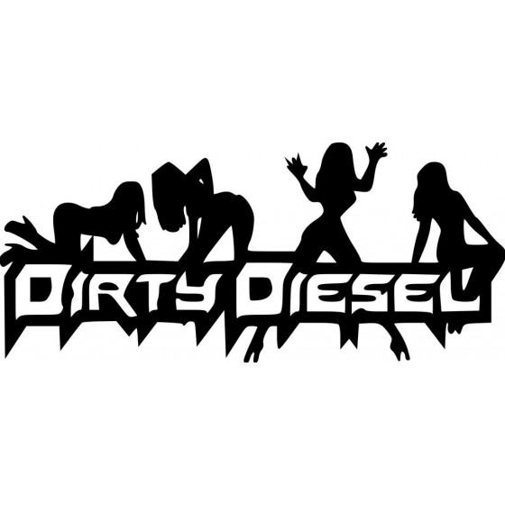 Diesel Dirty Sticker Vinyl...