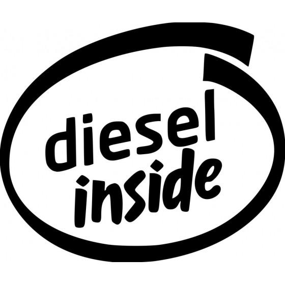 Diesel Inside Sticker Vinyl...