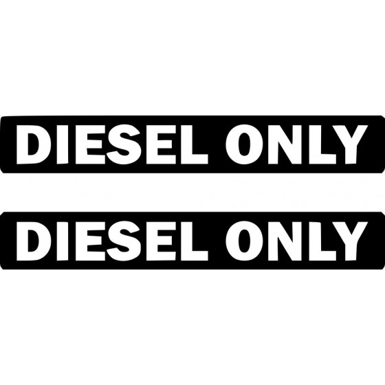 Diesel Only Sticker Vinyl...