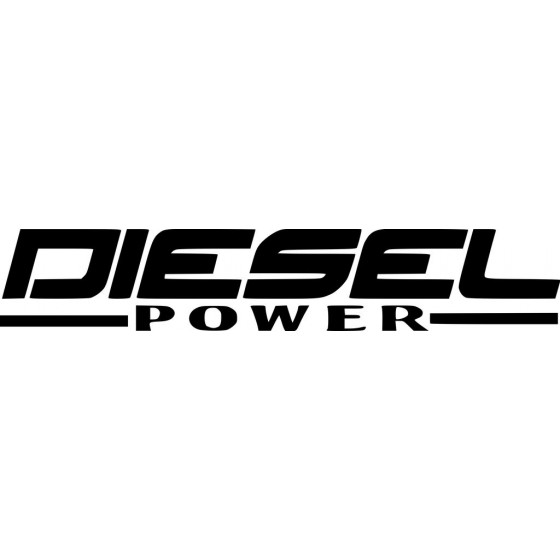Diesel Power Sticker Vinyl...