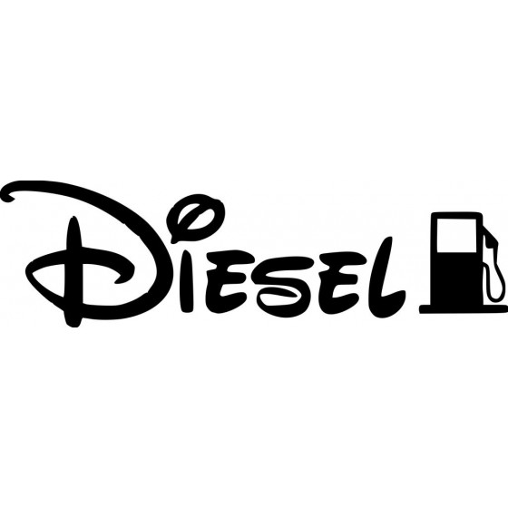 Diesel Sticker Vinyl Decal...