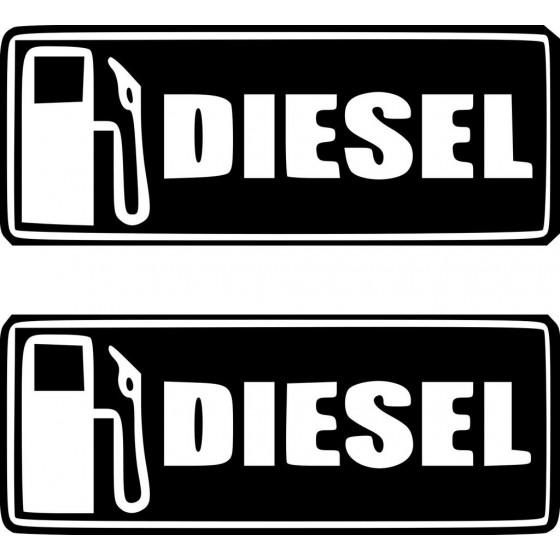 Diesel Sticker Vinyl Decal...