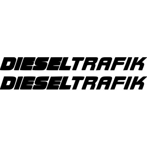 Diesel Trafik Sticker Vinyl...