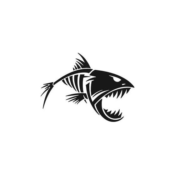Angry Fish Fishing Vinyl...