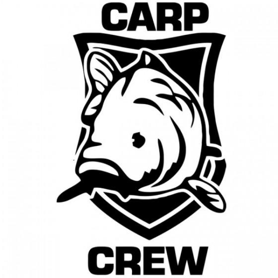 Carp Crew Fishing Vinyl...