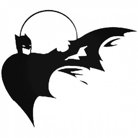 Batman 45 Decal