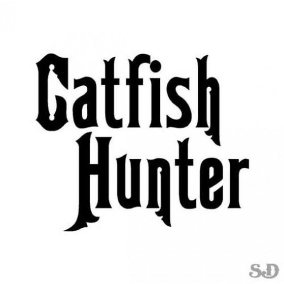 Catfish Vinyl Decal Sticker...