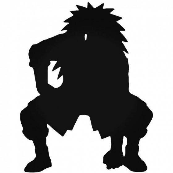 Naruto Choji Akimichi 10 Decal