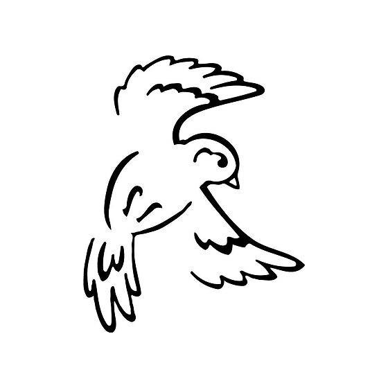 Bird Vinyl Decal Sticker V15