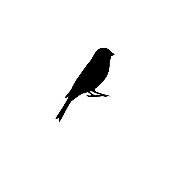 Bird Vinyl Decal Sticker V18