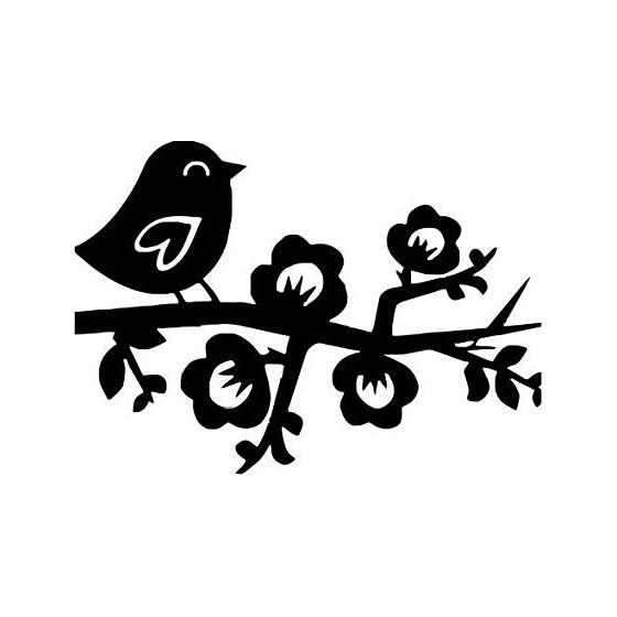 Bird Vinyl Decal Sticker V22