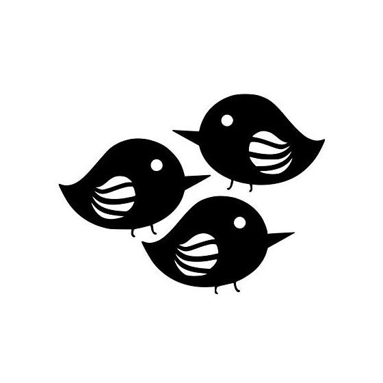 Bird Vinyl Decal Sticker V29