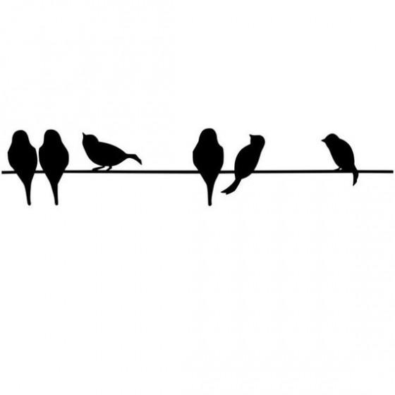 Bird Vinyl Decal Sticker V30