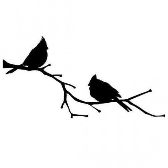 Bird Vinyl Decal Sticker V37