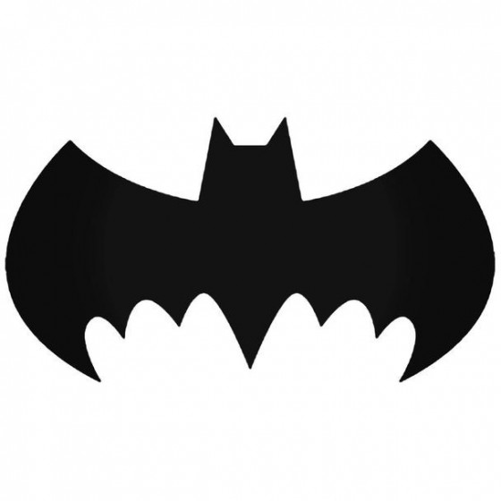 Batman Batman Logo 19 Decal