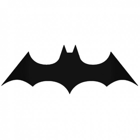 Batman Batman Logo 8 Decal