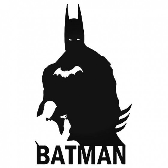 Batman Bruce Wayne Decal...