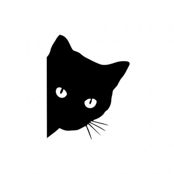Black Cat V2 Sticker Vinyl...