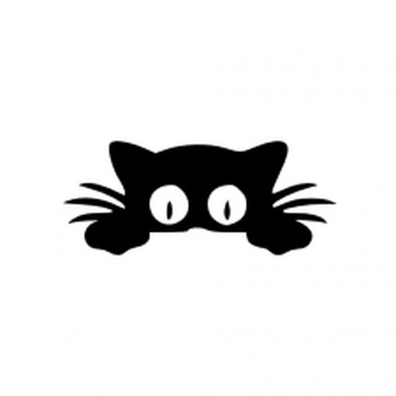 Black Cat V4 Sticker Vinyl...