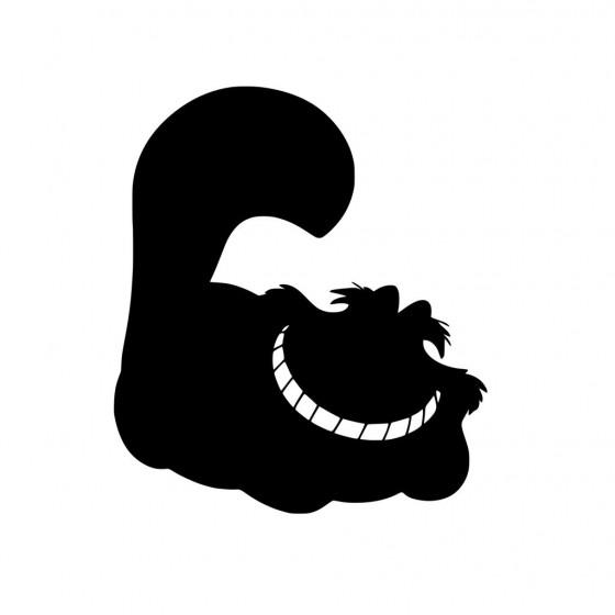 Cat Smile Sticker Vinyl Decal
