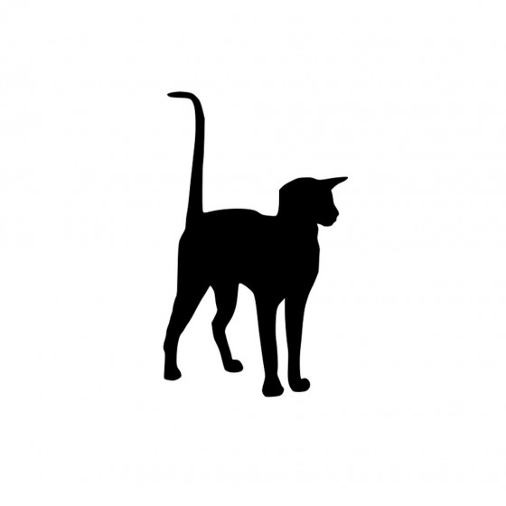 Cat V4 Sticker Vinyl Decal