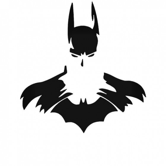 Batman Logo 2 73 Decal