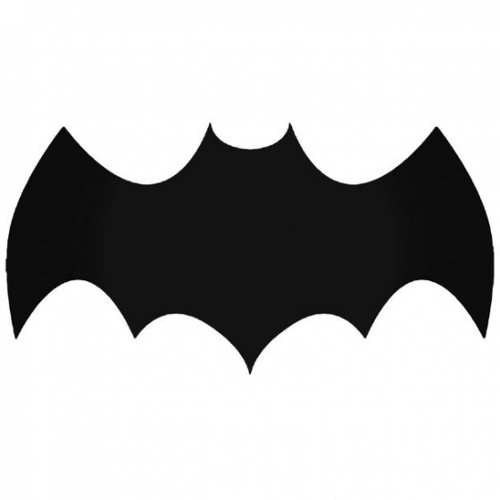 Batman Logo Batman 3 Decal
