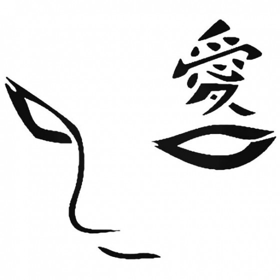 Naruto Gaara Eyes Decal...