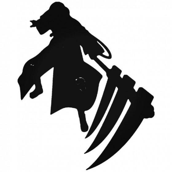 Naruto Hidan 7 Decal