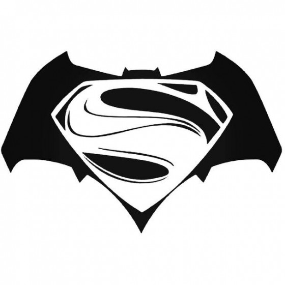 Batman Vs Superman 2016 Decal