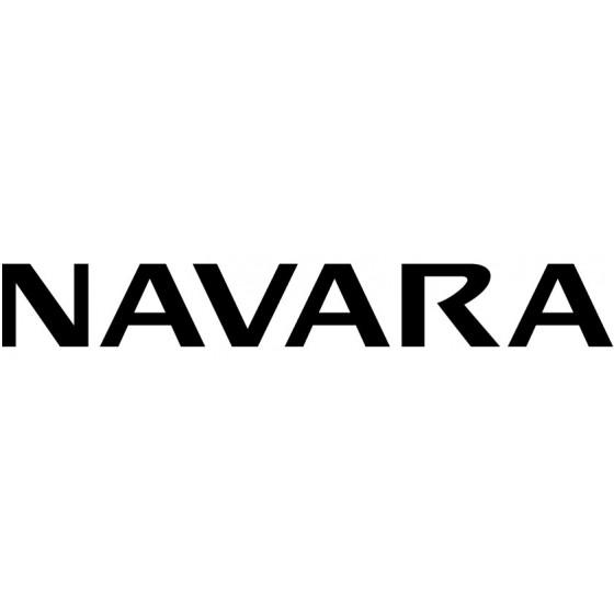 Nissan Navara Decal Sticker