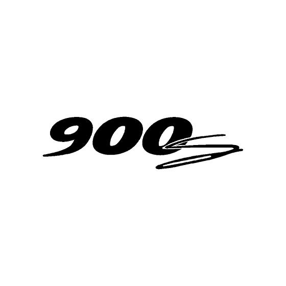 900s Decal Sticker
