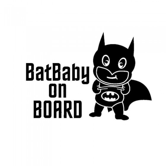 Batbaby On Board With Baby...