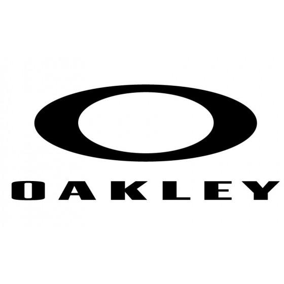 Oakley Decal Sticker