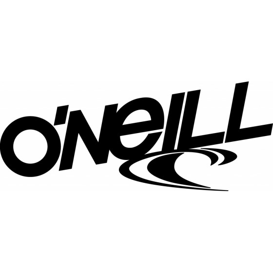 Oneill Text Surfing Decal...