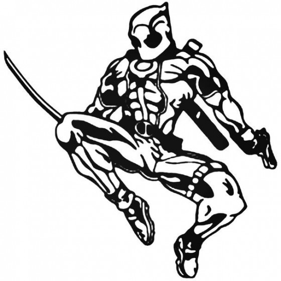Deadpool Deadpool 8 Decal