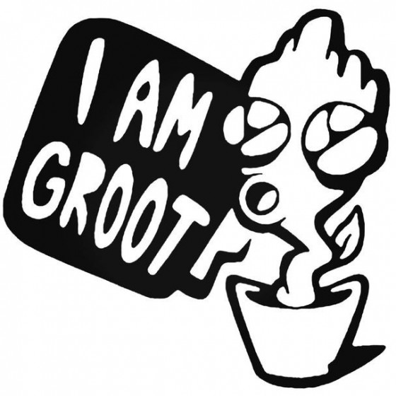 Guardians Baby Groot Decal...