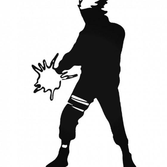 Naruto Kakashi 3 Decal