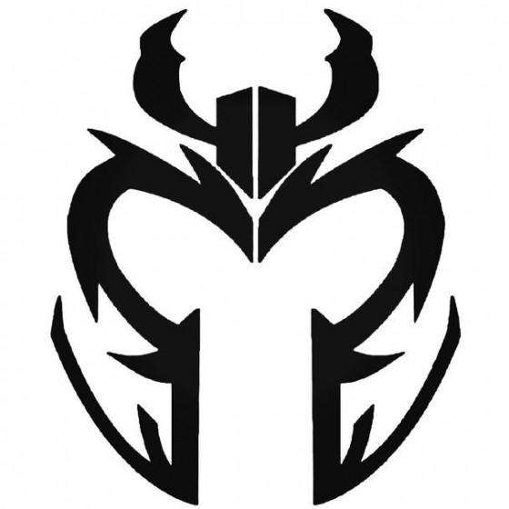 Magneto Helmet Decal Sticker